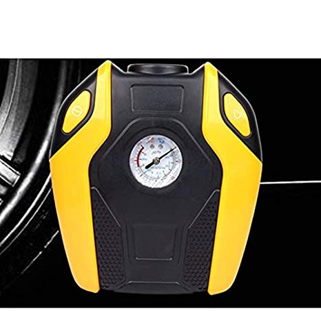 Bomba Inflable Inflable portátil 12V / 220V del compresor de Aire de la Bomba del Coche del indicador Digital Mini Bomba eléctrica del inflador del ...