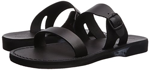 Sandale Dan Dan Noir Sandales Hommes Slide Slide Jérusalem Jérusalem Sandale Sandales Noir Dan Hommes Sandale zZBqwwA