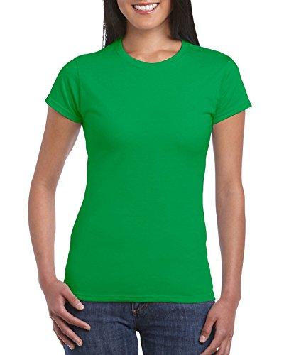 Gildan Softstyle Ladies Camiseta Ajustada verde (Irish Green)