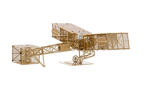 the-santos-dumont-14-b-brass-edition-by-aerobase-unique-metal-models-from-japan