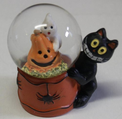 Scary & Non Scary Halloween Decorations (Polyresin and Glass Halloween Water Globe 1 1/2