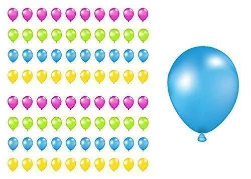 Amazon 2 SHEET SETBirthday Balloons Planner Stickers Handmade