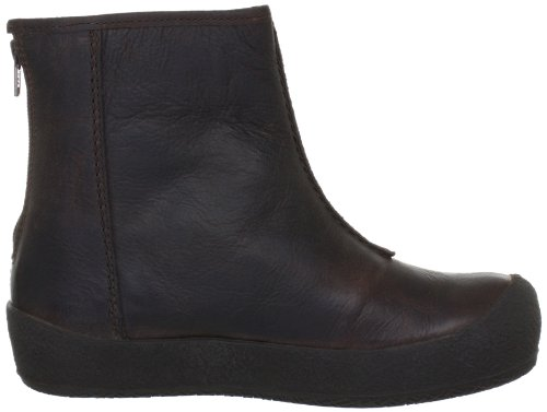 Shepherd ELIN 23/2315 - Botas clásicas de cuero para mujer Marrón (Brown leather 36)