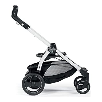 Peg Perego Chasis Book 51 S - Carrito con capazo, color negro/blanco: Amazon.es: Bebé