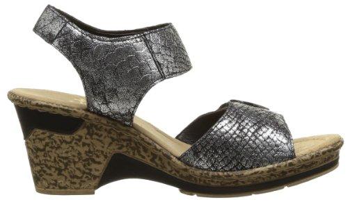 Rieker 60663 90 - Correa de tobillo Mujer Marrón - Braun (métallique)