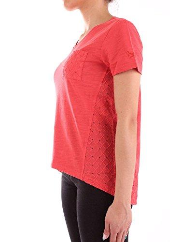 F Woolrich Penn Donna T E double Red shirt Canotte Tee rich Wytee0429 77twqaA