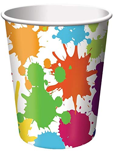 Creative Converting Devotion Cross Hot Or Cold Beverage Cups, 8 Count, Multicolor, One Size]()