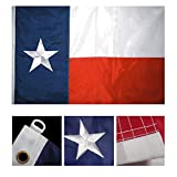 Cheap 8×12 FT Nylon Texas Embroidered Flag – TX