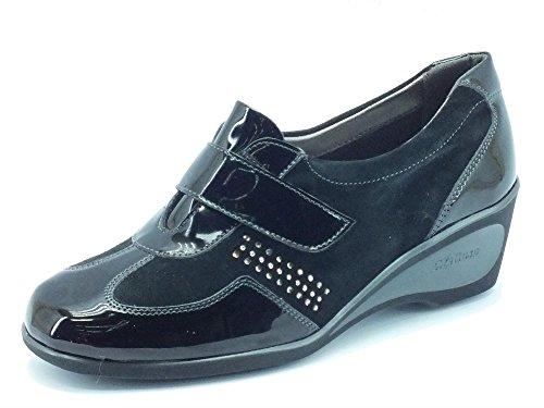 MELLUSO Women's K90221 Nero Loafer Flats Black Nero Nero kX1npRk