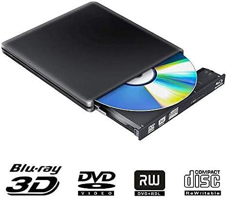 EqWong - Lector de BLU-Ray y MDisc (USB 3.0, portátil, portátil ...