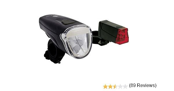 Büchel - Juego de Luces para Bicicleta (2 Unidades, luz Delantera ...