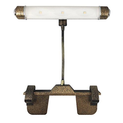 Rite Lite LPL600DBZ Wireless LED Picture Light, Dorado Bronze - Bronze Artworks Lamp