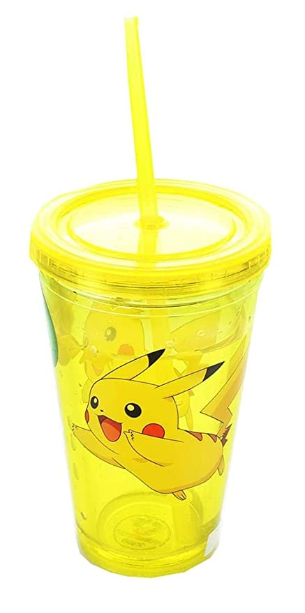 261f223a374 Amazon.com: JUST FUNKY Pokemon Pikachu 16oz Carnival Cup with ...