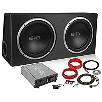 Amazon.com: Belva 1200 watt Complete Subwoofer Package