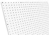 diamondLife HPB2448.G.WHT PegBoard X2, 24'' x 48'', White