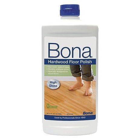 Bona High Gloss Hardwood Floor Polish 24 Oz.