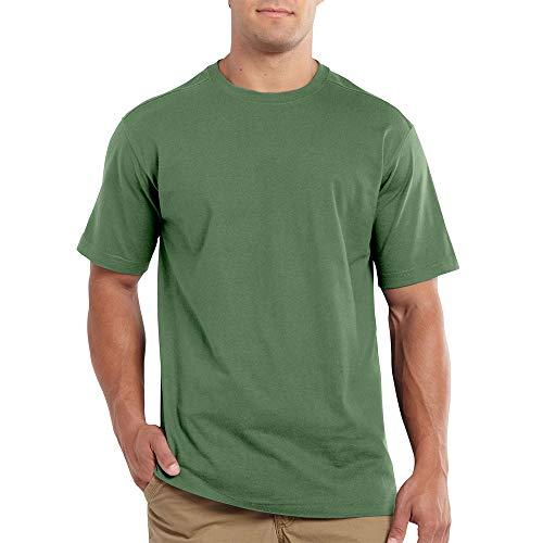 Carhartt Men's 101124 Maddock Short Sleeve T-Shirt - X-Large - Herb (Herb Shirt)