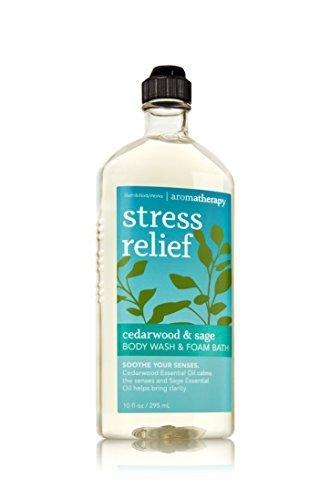 Bath & Body Works Aromatherapy Wash & Foam Bath Cedarwood & Sage Stress Relief ()