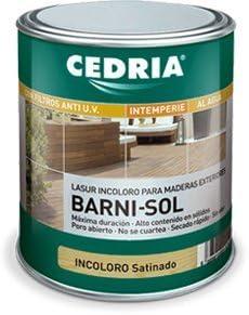 CEDRIA BARNI-SOL SATINADO 4 L: Amazon.es: Bricolaje y herramientas