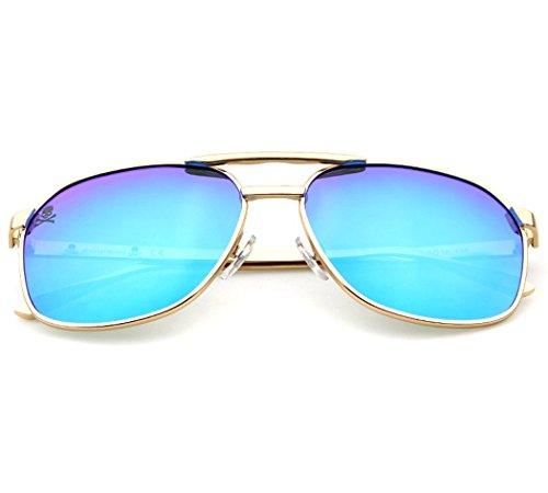 UV de Mode de Blue de de Fansport Hommes Soleil Lunettes Soleil Lunettes Protection Soleil Polarisées pour Lunettes pRnzw