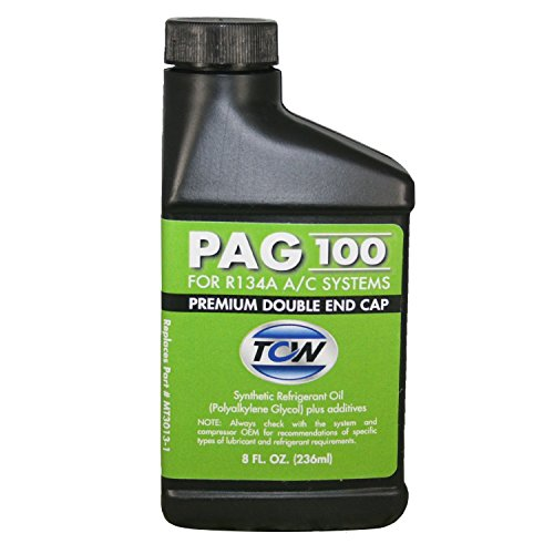 TCW MT3013-1 PAG 100 Premium Double End Cap Compressor Oil, 8 oz