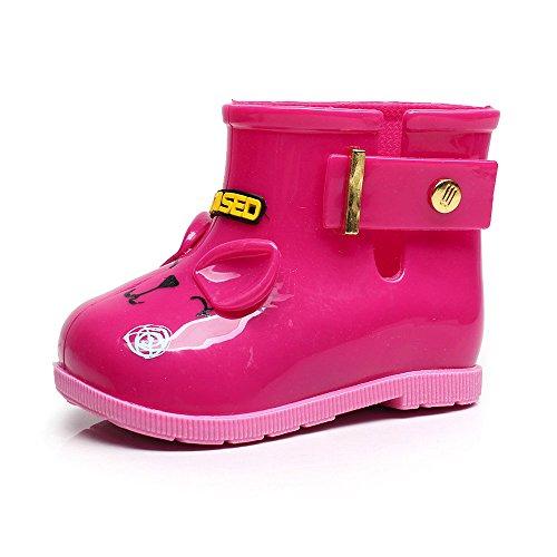 KpopBaby Waterproof Child Rubber Boots Infant Baby Rain Boots Kids Children Rain Shoes