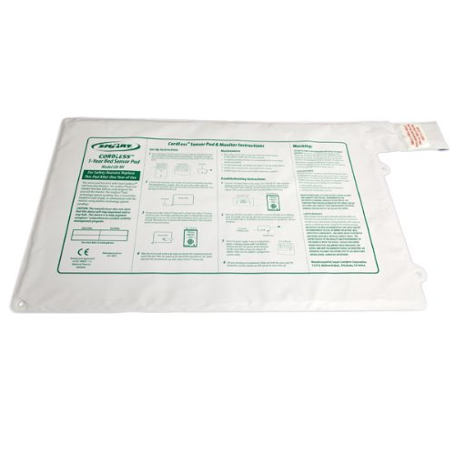 CordLess Bed Sensor Pad 20x30-in with Transmitter