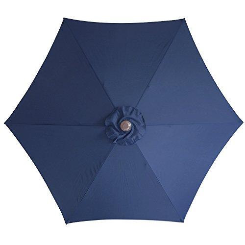 6 ribs patio umbrella replacement