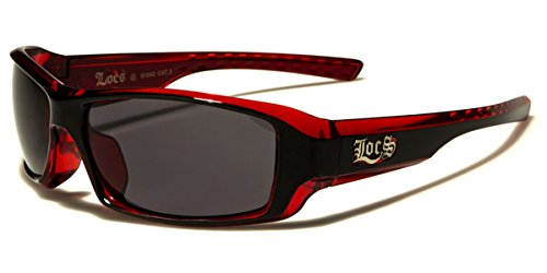 Locs Two Tone Original Gangsta Shades Fashion Statement Translucent Frame - Locs Shades