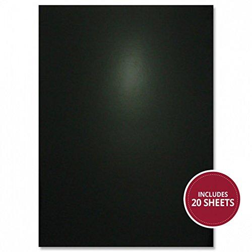 Hunkydory Midnight Fairies Midnight Black Mirri Bumper Pack 20pc 270gsm MCD706 Mirror Board A4