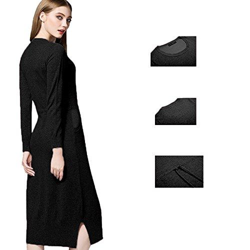 Coco Fashion-Jersey-para mujer negro