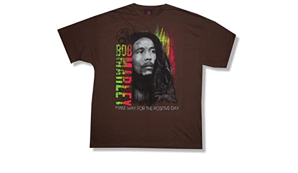 Amazoncom Bob Marley Make Way Brown T Shirt New Adult Large