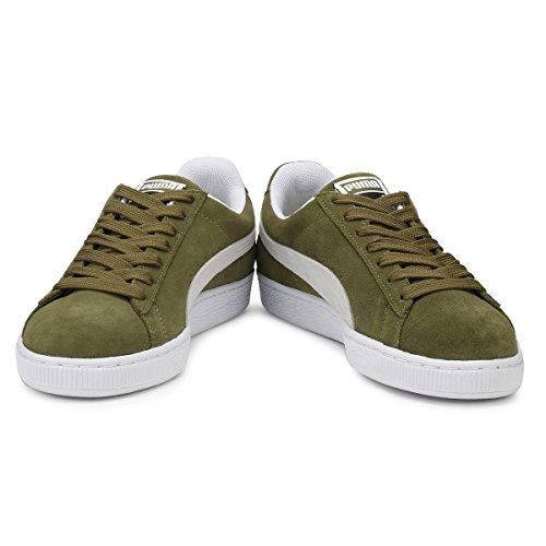 Puma Hombres Olive Ante Classic Zapatillas