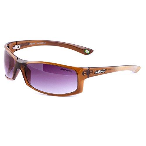 Brand New MORMAII Laguna Men's UV 400 Sport Sunglasses Frame Brown - Sunglasses Mormaii