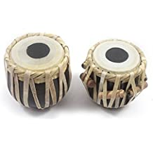 Handmade Authentic Classical Indian Music Instrument Miniature 4 Inch Wooden Tabla Set Showpieces Premium Christmas Gift or Multi Occasional Gift