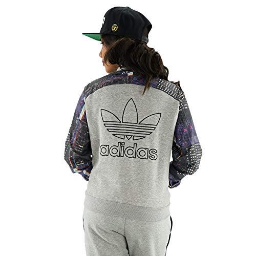 Adidas Grigio 44 Giacca Originals Donna Grigio College aHZfAwq