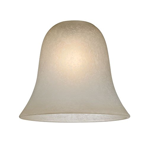 Design Classics Lighting Bell Glass Light Shade – Lipless with 1-5/8-Inch Fitter Opening