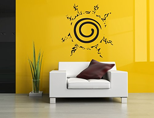 Wall Room Decor Art Vinyl Sticker Mural Decal Naruto Cartoon Ninja Logo Anime Hentai Manga Poster Sign Tattoo Warrior AS2609