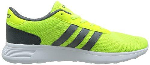 adidas Lite Racer, Zapatillas de Deporte para Hombre Amarillo / Blanco (Amasol / Plomo / Ftwbla)