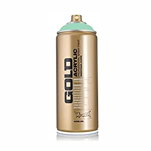 Montana Gold Series Spray Paint - Malachite Light 11 oz aerosol can
