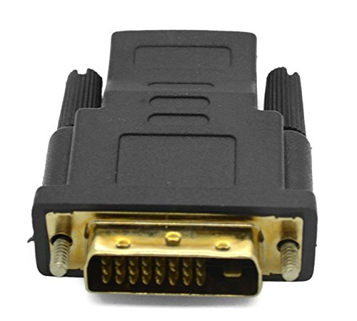 DVI-D Dual Link-M (24+1) to HDMI-F Adapter by CorpCo