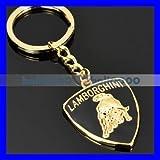 Gold Lamborghini Keychain