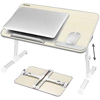 Amazon Com Laptop Bed Tray Table Nearpow Adjustable