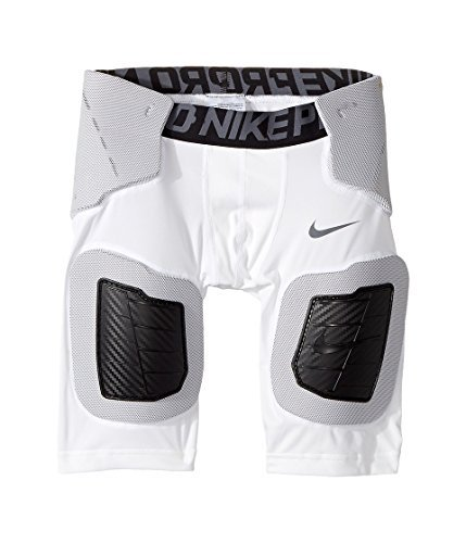 Core Pro Nike - Nike Kids Pro Hyperstrong Core Football Short Little Kids/Big Kids White/White/Dark Grey/Flint Grey Boys Shorts,LG