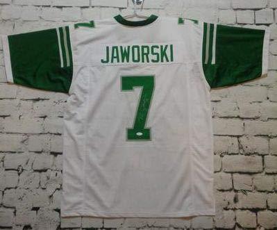reputable site a5649 ae048 Ron Jaworski Signed Autographed Philadelphia Eagles Football ...