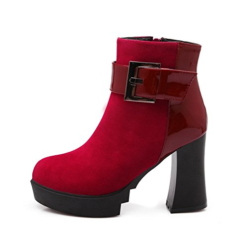 Balamasa Balamasa Chelsea Bottes Chelsea Bottes Femme Femme Red Red Balamasa nqXZq6r