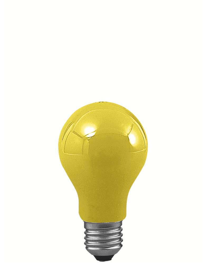 Paulmann Leuchten Paulmann 400.42AGL 40W E2740042, Vetro, 40W, Giallo, 9.5x 55x 9.5cm [Classe di efficienza energetica E] Paulmann Licht