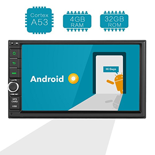 - Amaseaudio Android 8.0 Upgrade Octa Core 4GB Ram 32GB ROM Double 2 Din in Dash Car Stereo Radio Multimedia Navigation Receiver Head Units Without DVD CD