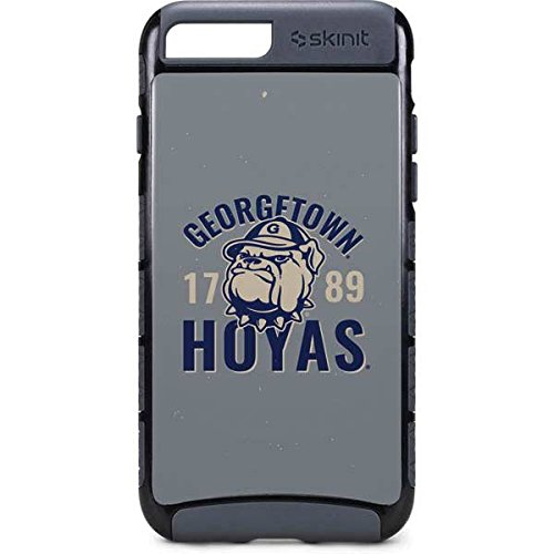 Georgetown Exterior Wall - Skinit Georgetown University iPhone 8 Plus Cargo Case - Georgetown Hoyas 1789 Design - Durable Double Layer Phone Cover