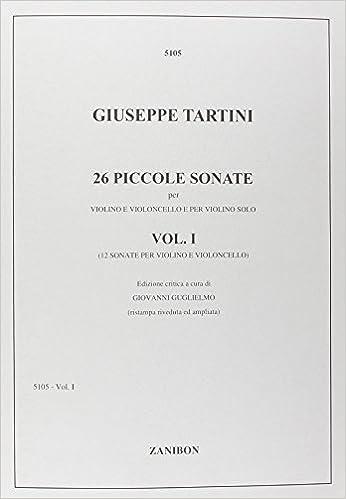 Télécharger en ligne 26 Piccole Sonate Per Violino E Violoncello E Per pdf